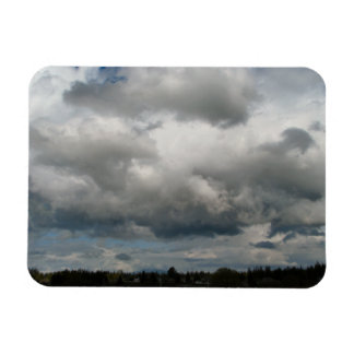 Cascade Foothills And Clouds Magnet