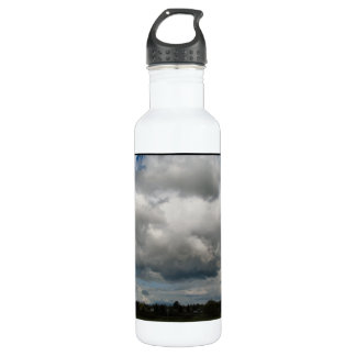 Cascade Foothills And Clouds 24oz Water Bottle