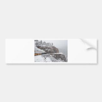 Cascade Gorge Aboard the Polar Express Bumper Sticker