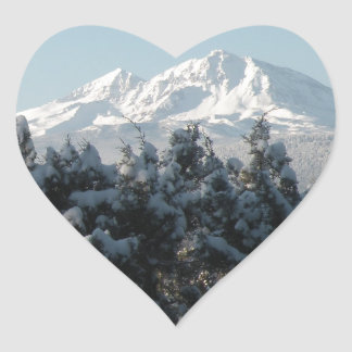 Cascade Holiday Heart Sticker