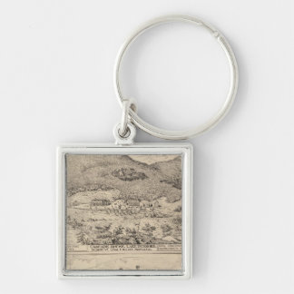 Cascade House in Lake Dunmore Keychain