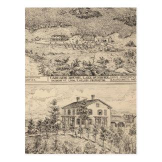 Cascade House in Lake Dunmore Postcard