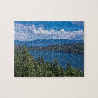 Cascade Lake Jigsaw Puzzle
