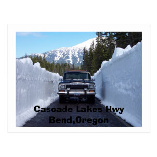 Cascade Lakes Hwy Bend,Oregon Postcard