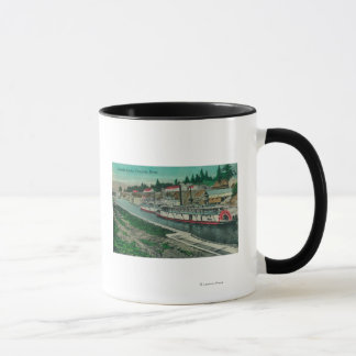 Cascade Locks on the Columbia River Mug