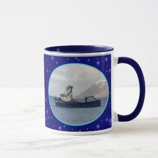 Cascade Mariner, Crab Boat in Dutch Harbor, AK Mug