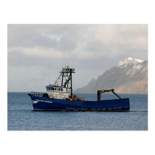 Cascade Mariner, Crab Boat in Dutch Harbor, AK Postcard