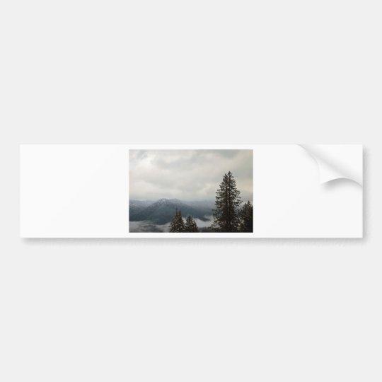 Cascade Mountain Range Bumper Sticker