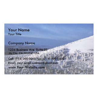 Cascade Mountain Range, Oregon Business Card Template