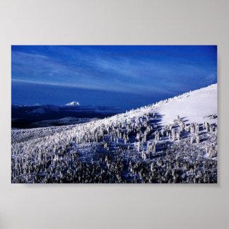 Cascade Mountain Range, Oregon Print