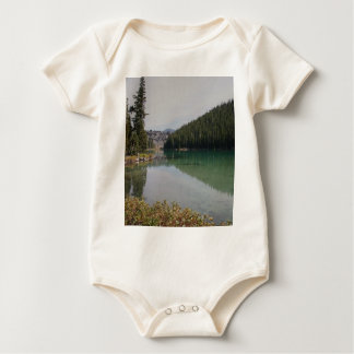 Cascade Mountains, Devils Lake, Oregon Baby Bodysuit