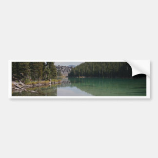 Cascade Mountains, Devils Lake, Oregon Bumper Sticker