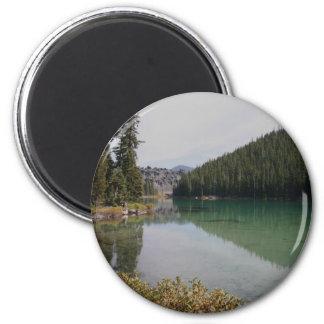 Cascade Mountains, Devils Lake, Oregon Magnet