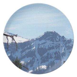Cascade Mountains Dinner Plate