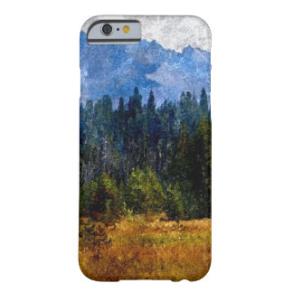 Cascade Mountains Meadow, Oregon Barely There iPhone 6 Case