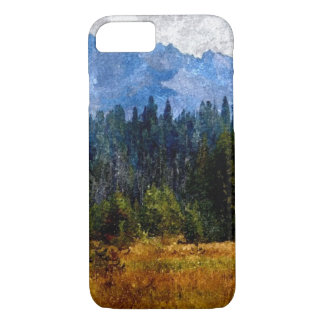 Cascade Mountains Meadow, Oregon iPhone 8/7 Case