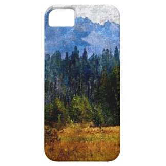 Cascade Mountains Meadow, Oregon iPhone SE/5/5s Case