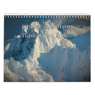 Cascade Mountains - Washington State Calendar