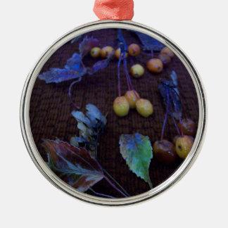 Cascade Of Fall Colors Metal Ornament