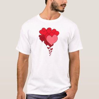 Cascade of Hearts.png T-Shirt