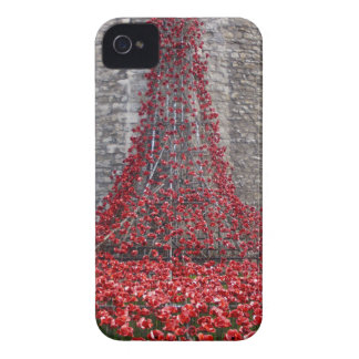 Cascade of Poppies - Tower of London iPhone 4 Cover