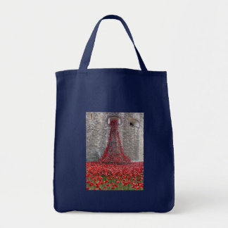 Cascade of Poppies - Tower of London Tote Bag