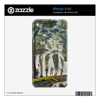 Cascade of Port Praslin, New Ireland, from 'Voyage iPhone 4 Skins