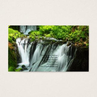 Cascade of the Karuizawa white thread Business Card