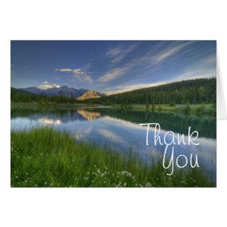 Cascade Ponds Canada Greeting Card