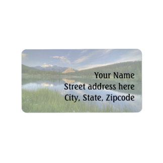Cascade Ponds Canada Address Label