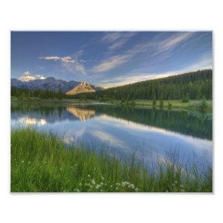 Cascade Ponds Canada Photo Art