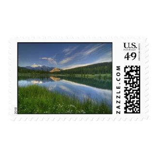 Cascade Ponds Canada Stamps