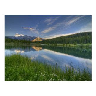 Cascade Ponds Canada Postcard
