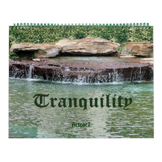 Cascade Tranquility 2015 Calendar Huge Two Page