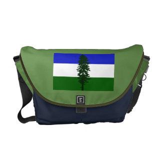 Cascadia Flag Messenger Bag