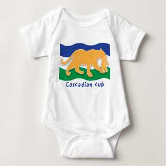 Cascadian Cub Baby Bodysuit