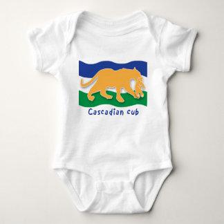 Cascadian Cub Polera