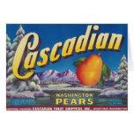 cascadian pears card