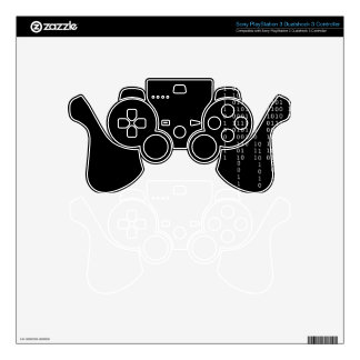 Cascading Binary Decal For PS3 Controller