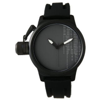 Cascading Binary Wrist Watch