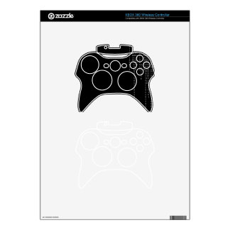Cascading Binary Xbox 360 Controller Skin