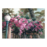 Cascading Flowers Art Card Large Business Cards (Pack Of 100)