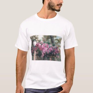 Cascading Flowers Ladies Shirt