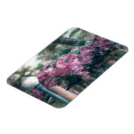 Cascading Flowers Magnet