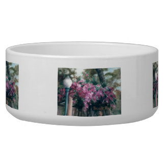 Cascading Flowers Dog Water Bowl