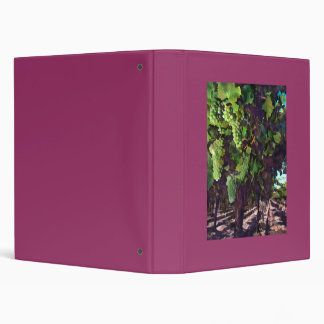 Cascading Grapes Binder