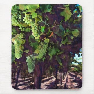 Cascading Grapes Mouse Pad