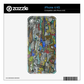 Cascading Pathways Electronics Skins Skin For The iPhone 4