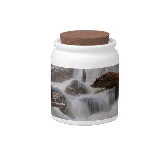 Cascading Stream Candy Jars