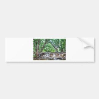Cascading Waterfall Bumper Sticker